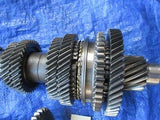 04-08 Acura TSX K24A2 ASU5 transmission gear set OEM gears and syncro 6 speed