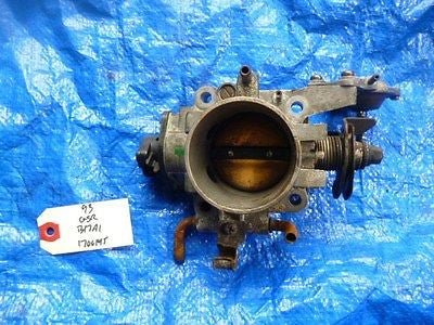 92-93 Acura Integra GSR B17A1 OEM throttle body assembly B17 VTEC OEM Rare