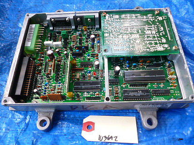 88-91 JDM Honda Civic SIR engine computer ecu PR3 manual obd0 37820-PR3-003