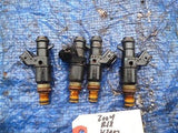 02-06 Acura RSX K20A3 fuel injectors set OEM engine motor base 4006041