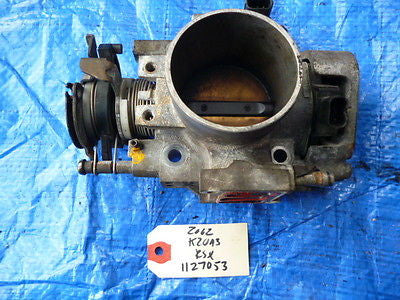 02-06 Acura RSX throttle body engine motor K20 K20A K20A3 TPS sensor map OEM