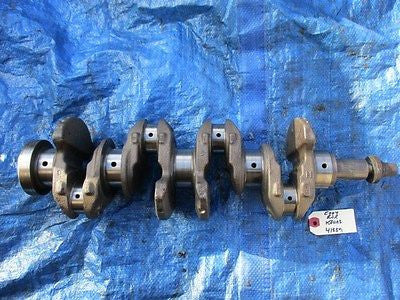 02-06 Acura RSX Base K20A3 crankshaft engine crank motor OEM 41889