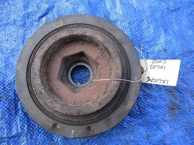 01-05 Honda Civic engine crankshaft pulley harmonic balancer motor D17 D17A1 OEM