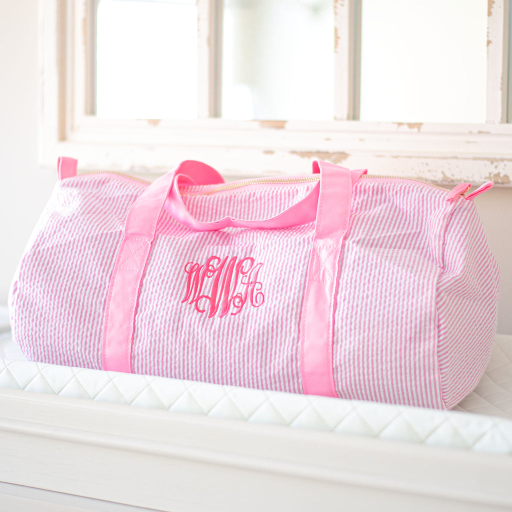 Personalized Baby Duffle Bags | 2 Colors