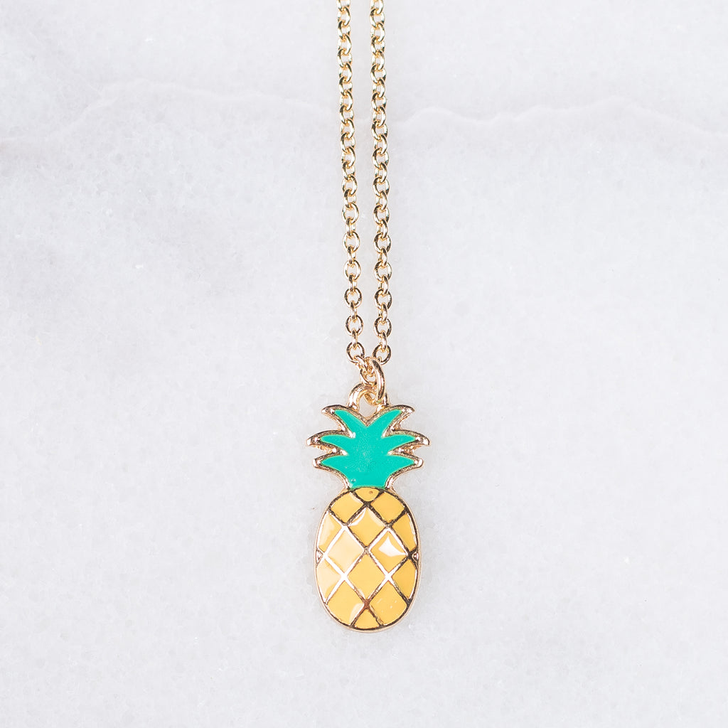 Dainty Pineapple Necklaces | 2 Colors