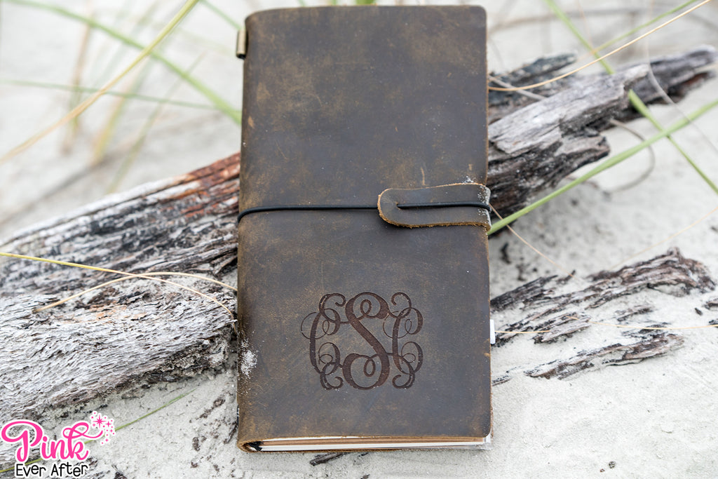Engraved Leather Journals | 3 Styles