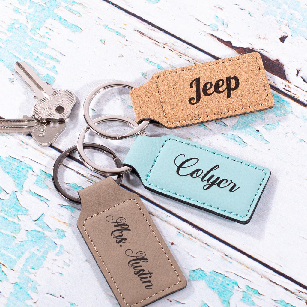 Personalized Keychains | 12 Colors