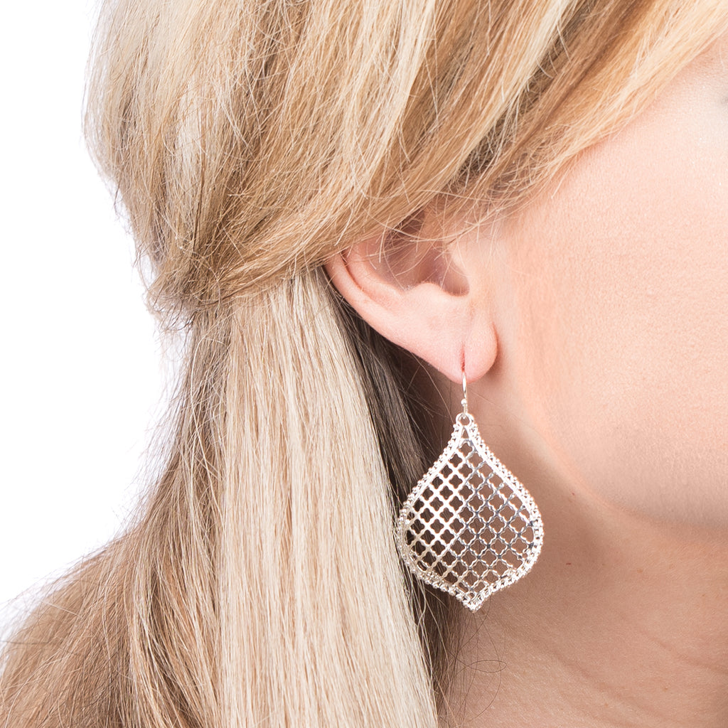 Honeycomb Filigree Earrings | 4 Colors