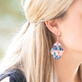 Leather Moroccan Earrings