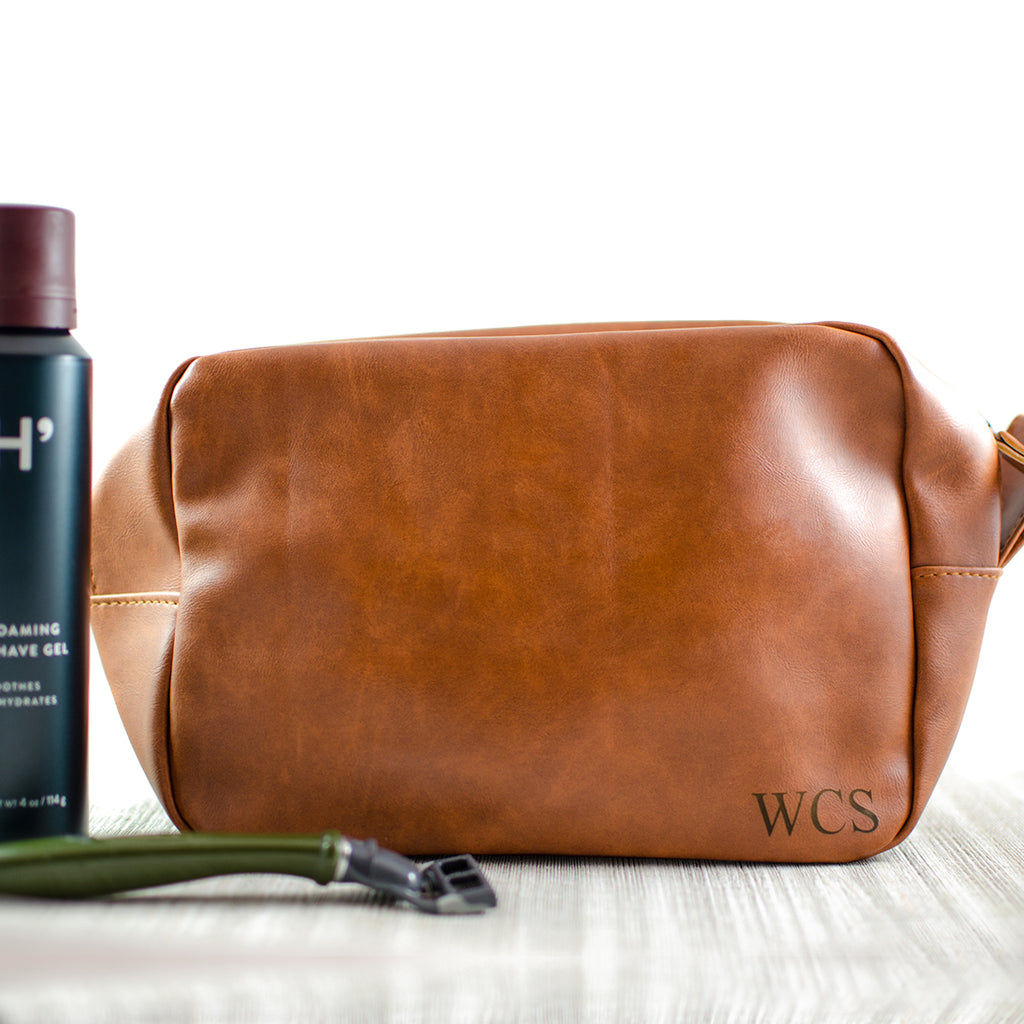 Engraved Men's Toiletry Bags