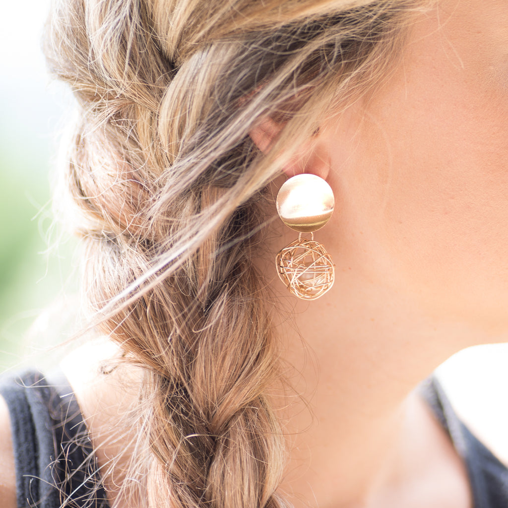Modern Geometric Earrings | 8 Styles