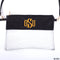 Monogrammed Clear Stadium Bags | 8 Colors