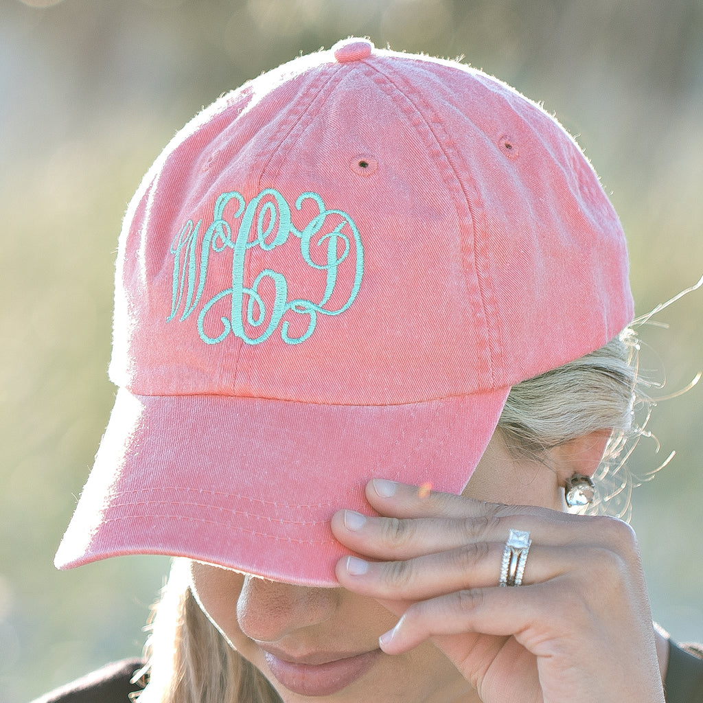 Monogrammed Hats | 12 Colors