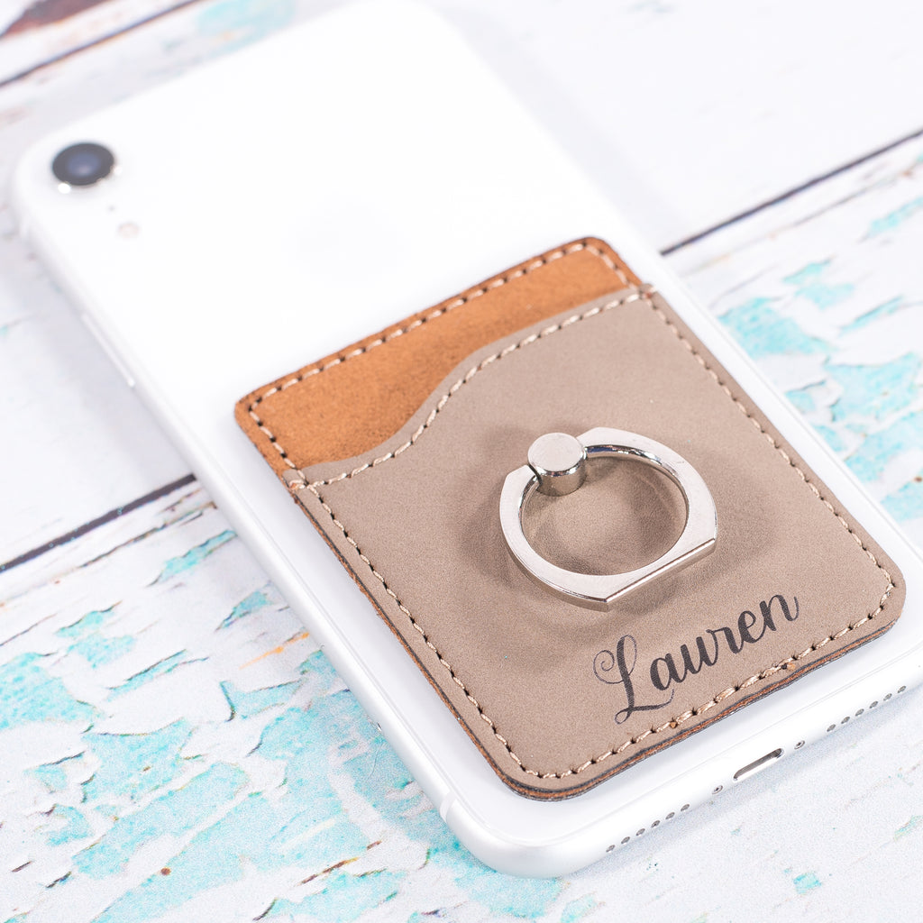 Personalized Phone Wallets | 11 Colors