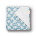 Animal Pattern Personalized Baby Blankets