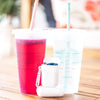 Reusable Straw + Case & Brush | 4 Colors