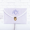 Monogrammed Seersucker Clutch | 6 Colors