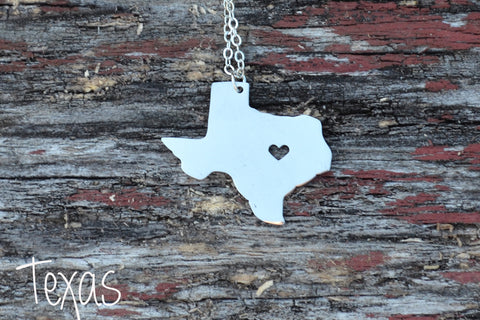 State Charm Necklaces
