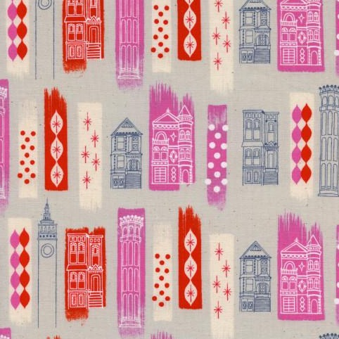 Cotton & Steel Jubilee - In The City Pink