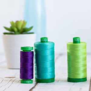 Aurifil 40WT Variegated 100% Cotton Thread 1000m