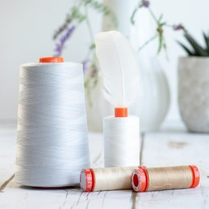 Aurifil 50WT 100% Cotton Thread 1300m