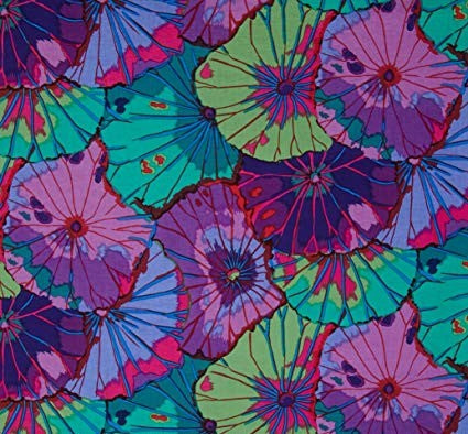 Kaffe Fassett Collective Lotus Leaf- Purple