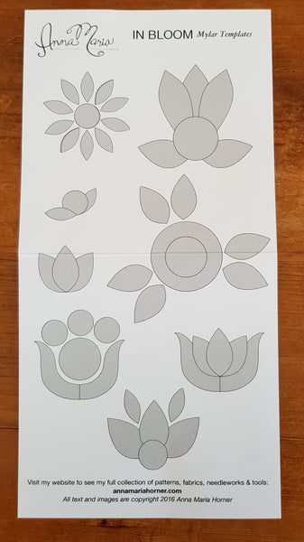 AMH In Bloom Collection - applique shapes