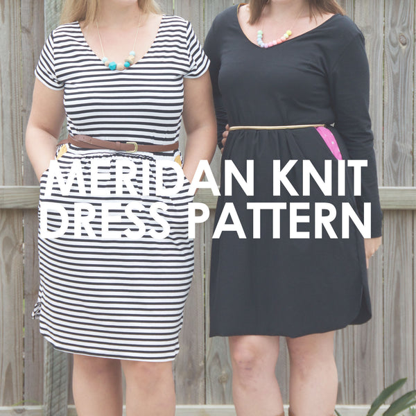 Sew to Grow patterns- Meridian Knit Dress