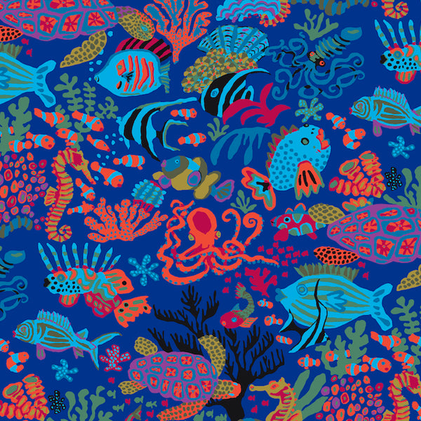 Brandon Mably Scuba - Blue