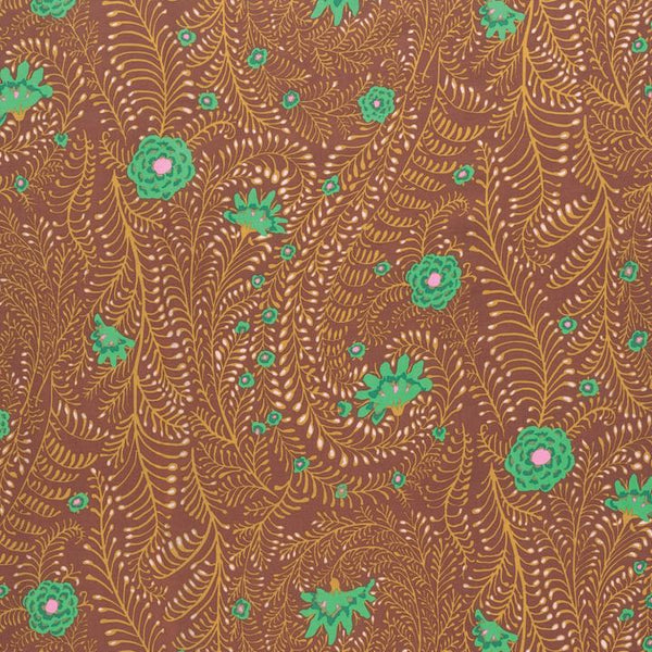 Kaffe Fassett Ferns - Brown