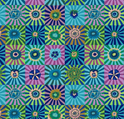Kaffe Fassett Collective Sunburst- Blue