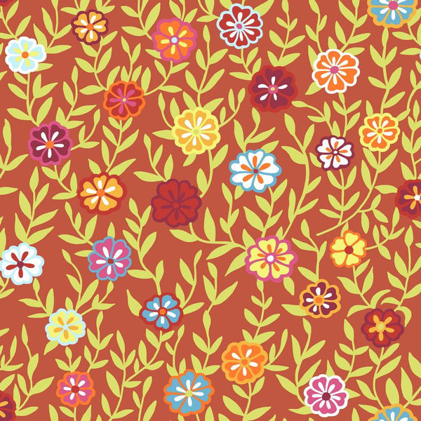 Kaffe Fassett Busy Lizzy - Red