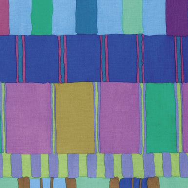 Kaffe Fassett Collective Layered Stripe- Blue