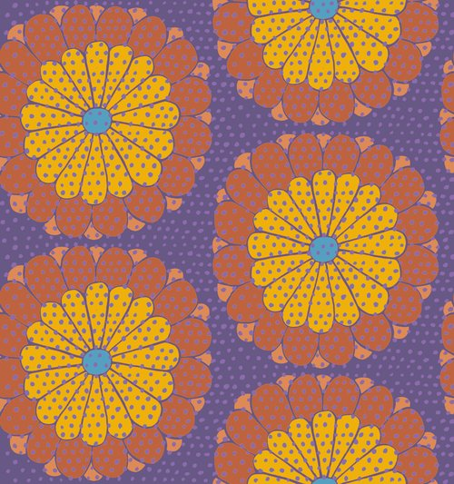 Kaffe Fassett Kyoto- Orange