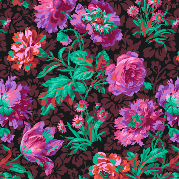 Philip Jacobs Baroque Floral - Black