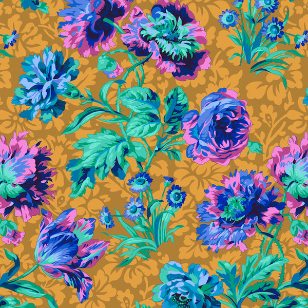 Philip Jacobs Baroque Floral - Blue