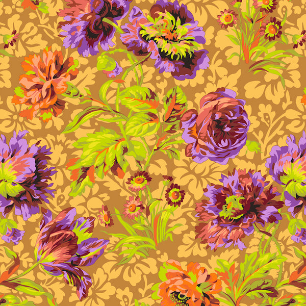 Philip Jacobs Baroque Floral - Brown