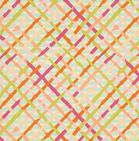 Brandon Mably Mad Plaid - Pastel