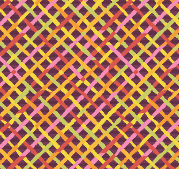 Brandon Mably Mad Plaid - Gold