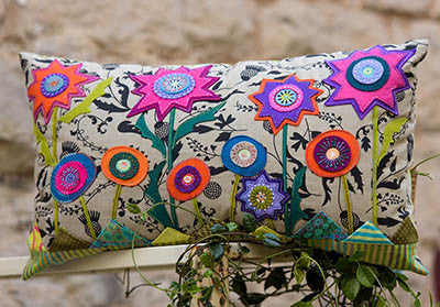 Starflower Pillow- Wendy Williams