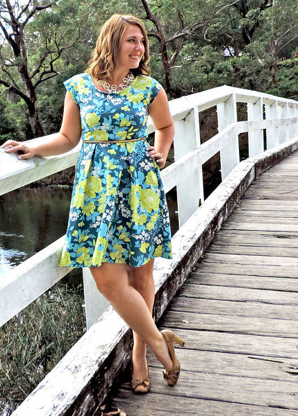 Sew to Grow patterns- Sweet Summertime Peplum Dress and Shirt