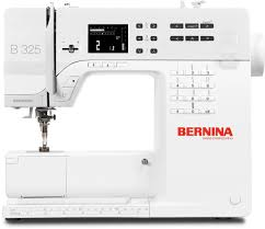 Bernina 325 - small sewing machine, but a big deal!