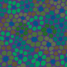 Kaffe Fassett Flower Dot - Purple