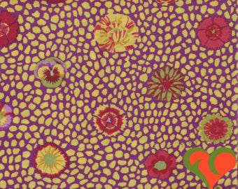 Kaffe Fassett Guinea Flower- Yellow