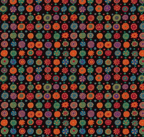 Kaffe Fassett Collective Whirligig- Brown