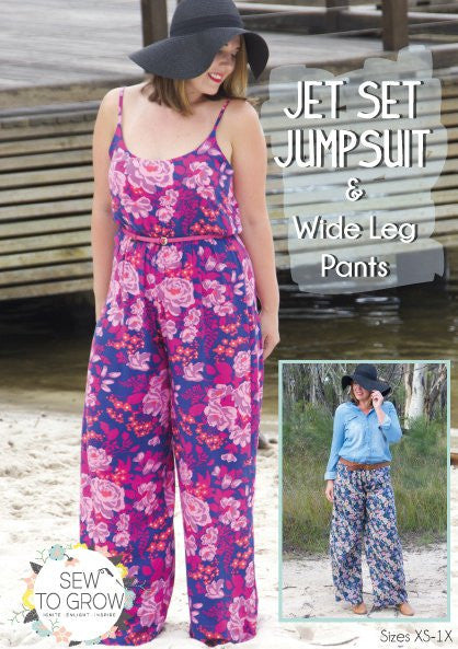 Sew to Grow patterns- Jet Set Jumpsuit