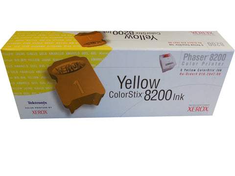 XEROX 016-2047-00 Yellow ColorStix (5 pack) 7k