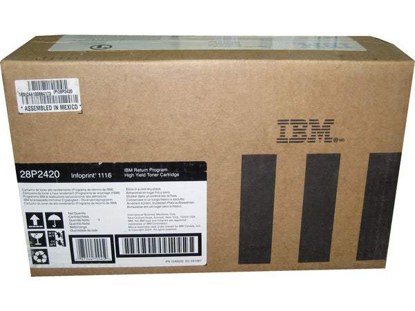 IBM 28P2420 Black High Yield Toner