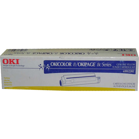 OKIDATA 41012302 Yellow Toner