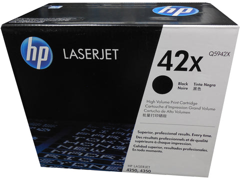 HP Q5942X (42X) Black High Yield Toner 20k